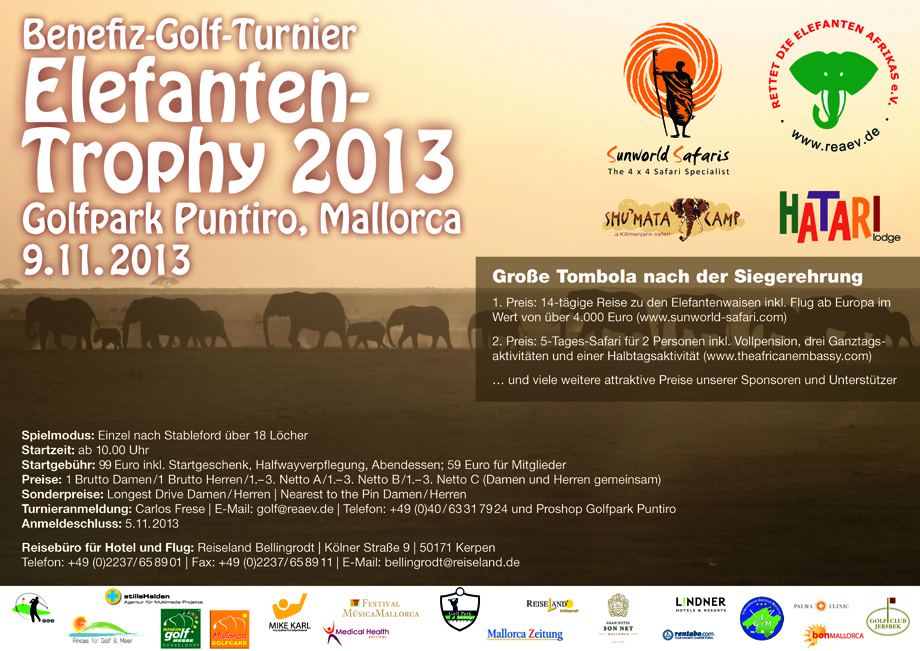 Elefanten Golf Trophy 2013
