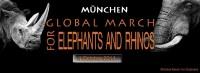 Aufruf zum weltweiten Marsch zur Rettung von Elefant und Nashorn