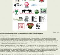 Offener Brief an den Umweltminister Hongkongs