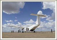 Die Rettung von Kelelari mit einem besonders großen Flugzeug