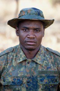 Cassium ist der Rambo der WAG-Ranger: Groß, stark und superfit (c) Wildlife Action Group